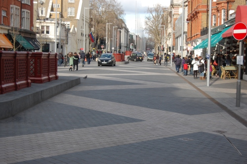 Exhibition Road Shared Space