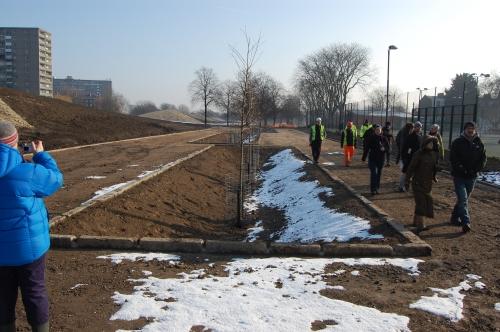 Burgess Park Site Visit (11/02/2012)