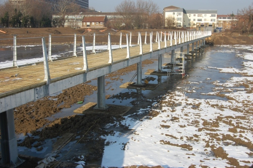 06 - Burgess Park Lake Bridge (11/02/2012)