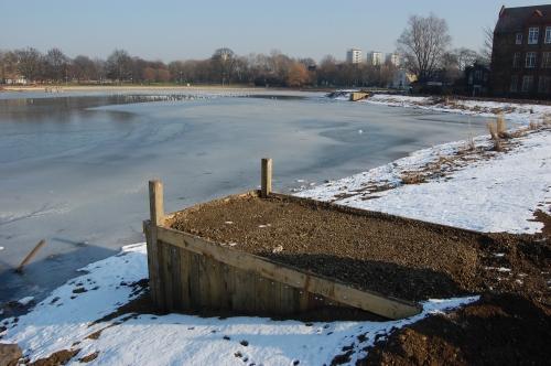 07 - Burgess Park Lake 'Swims' (11/02/2012)