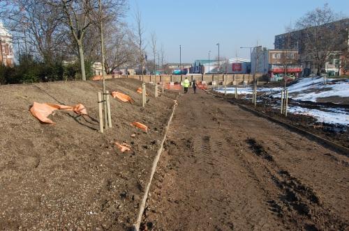 09 - Burgess Park Old Kent Road Entrance (11/02/2012)