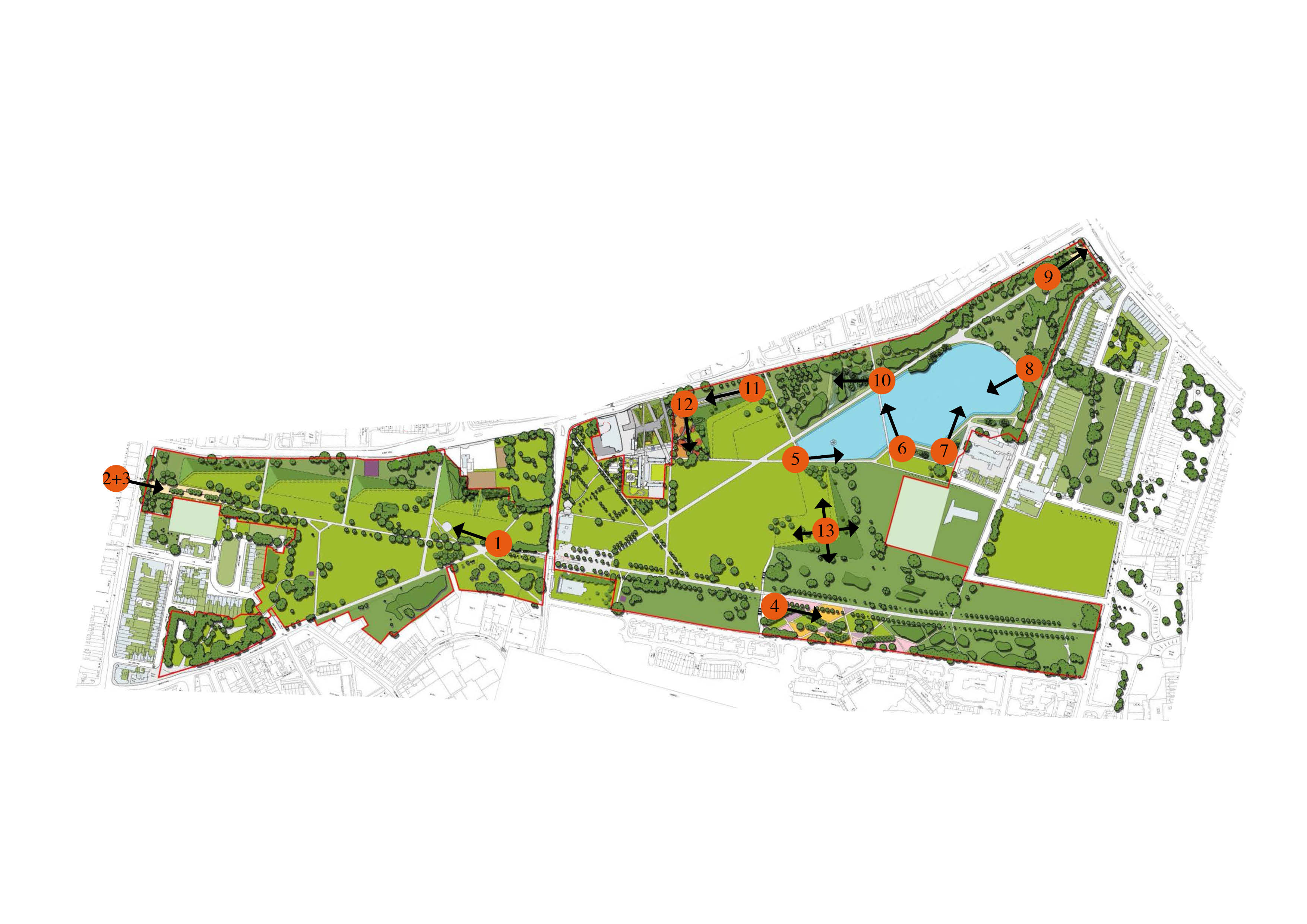 burgess park | landscape architect's pages | page 2
